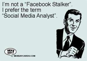 stalker social media